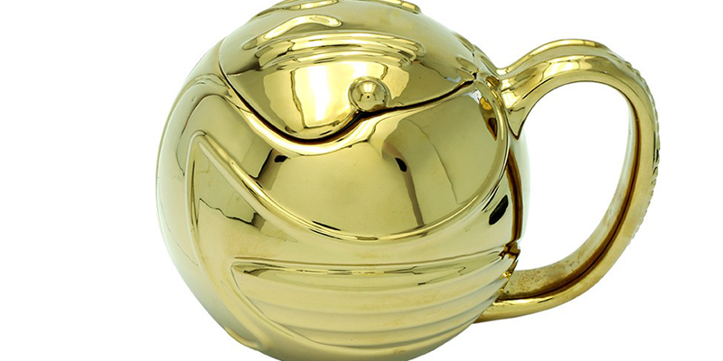 3D Mug (450ML)   Harry Potter: Golden Snitch
