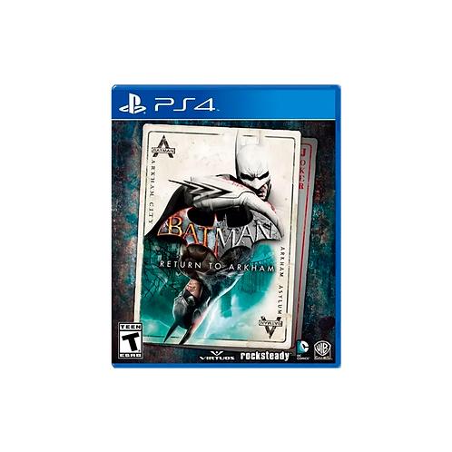 PS4   Batman: Return To Arkham