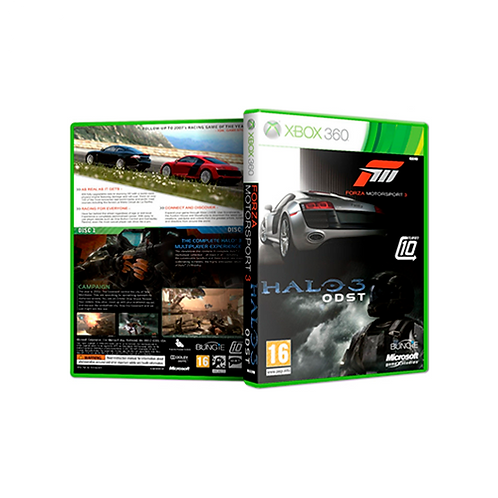 XBOX 360 | Halo 3: ODST & Forza: MotorSport 3 (Game Pack)