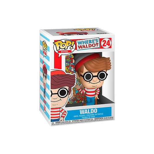 POP! Vinyl Figure | Where's Waldo?: Waldo 24