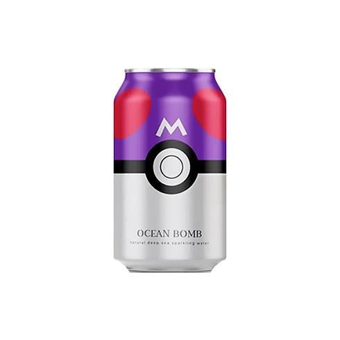 Sparkling Water | Ocean Bomb (Pokémon: Master Ball) (330ML)