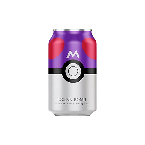 Sparkling Water   Ocean Bomb (Pokémon: Master Ball) (330ML)