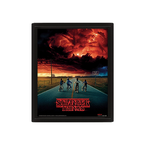 Poster Print (3D) | Stranger Things: Mind Flayer