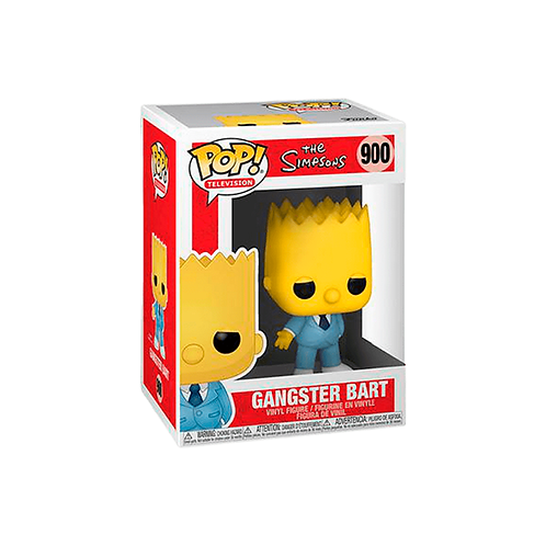 POP! Vinyl Figure | The Simpsons: Gangster Bart 900