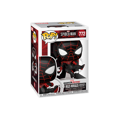 POP! Vinyl Figure | Spider-Man: MM: Miles Morales (Advanced Tech Suit) 772