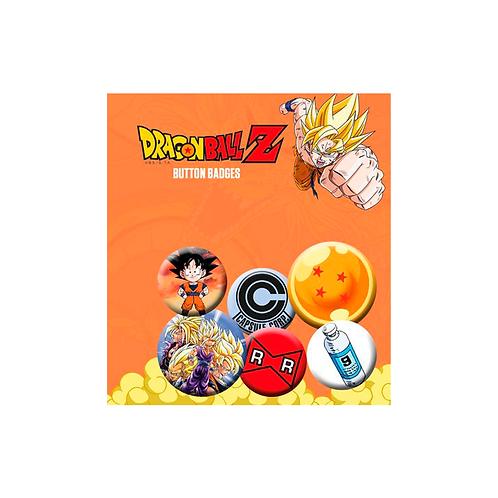 Buttom Badges | Dragon Ball Z (Mix)
