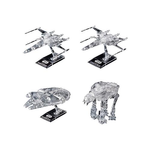 Plastic Model Kit | Star Wars: Clear Vehicle Set (Star Wars: The Last Jedi)