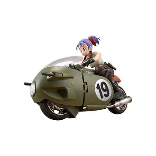Plastic Model Kit | Dragon Ball: Bulma's Variable No.19 Motorcycle
