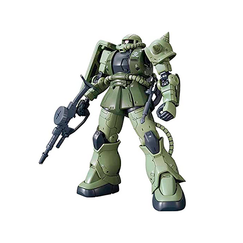 Plastic Model Kit | Mobile Suit Gundam Wing: Zaku II MS-06F (1/144)