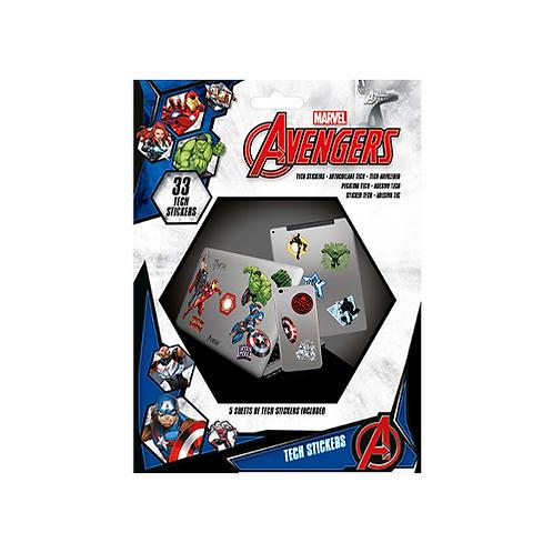 Tech Stickers | Marvel: Avengers #1