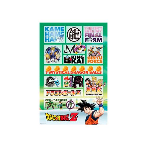 Maxi Poster | Dragon Ball Z: Infographic