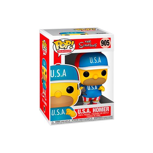 POP! Vinyl Figure | The Simpsons: U.S.A. Homer 905