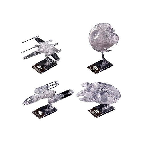 Plastic Model Kit | Star Wars: Clear Vehicle Set (Star Wars: Return Of The Jedi)