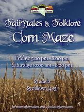 Lattin Farms Corn Maze 2021