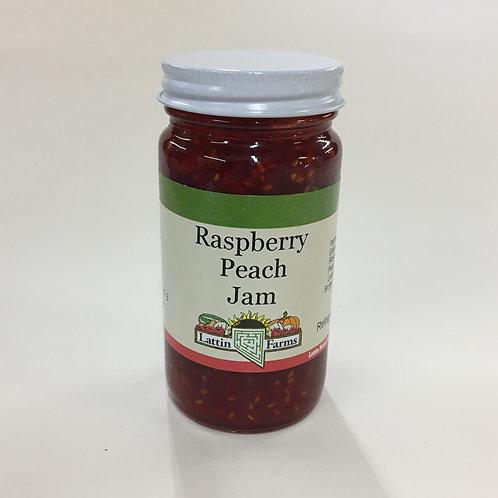 4 oz Raspberry Peach Jam