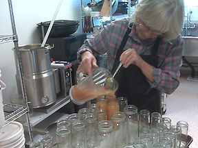 B Ann Lattin Pouring Jam