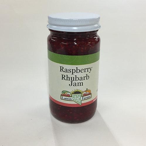 8 oz Raspberry Rhubarb Jam