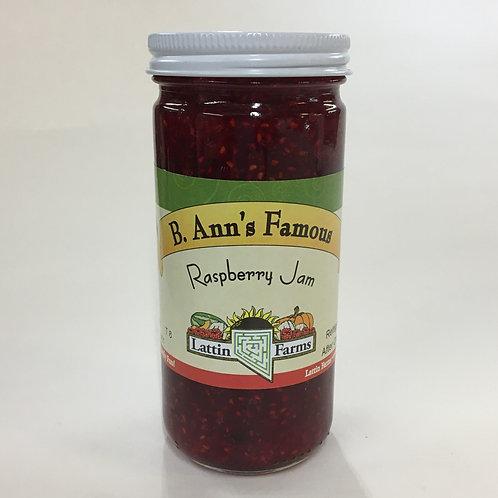 8 oz Raspberry Jam