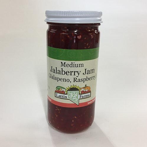 8 oz Jalaberry Jam (Jalapeno-Raspberry)