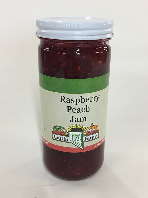 8 oz Raspberry Peach Jam