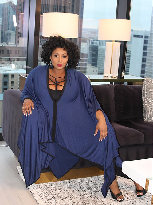 Bougie Auntie Vibes (Blue)
