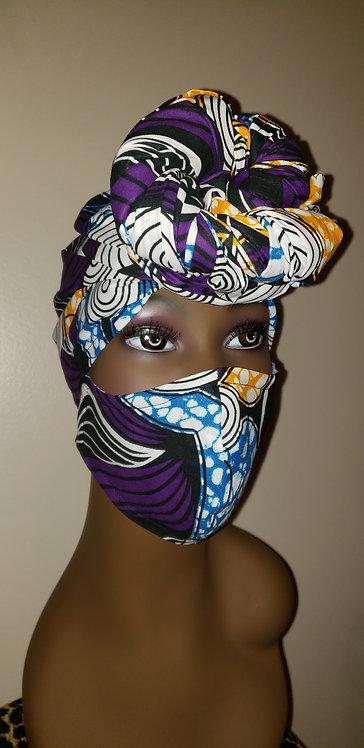 Nala Turban & Mask Set