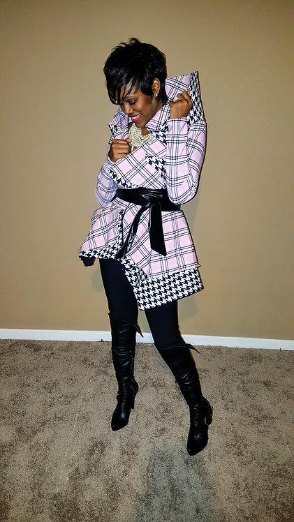 Amina High Collar Jacket