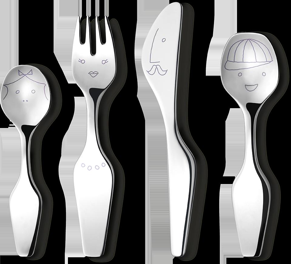3580049_The Twist Family_cutlery_4pcs_RGB