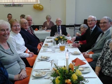 Full house to celebrate 90th birthday