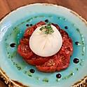 Burrata Tomato Confit & Balsamic Caramel