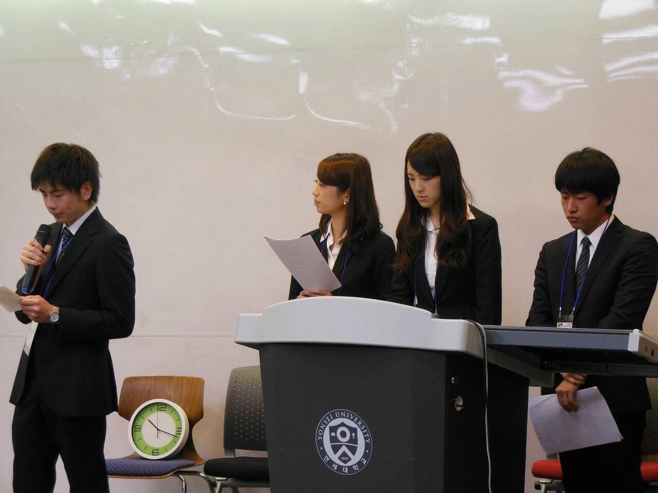 韓国・延世大学とのインゼミ その1