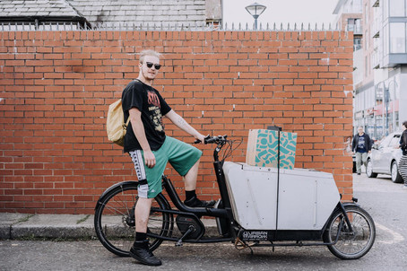 Deliveries to your door by electric bike!