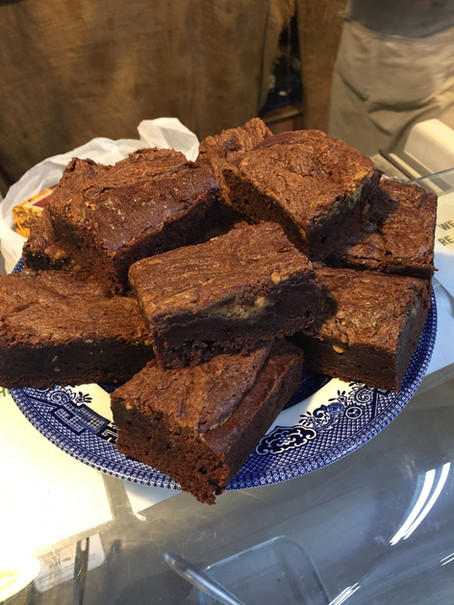 Behind the Scenes at Village Greens – Cake and Curry!