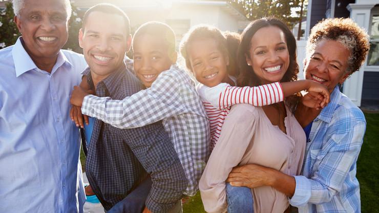 bigstock-Black-multi-generation-family--