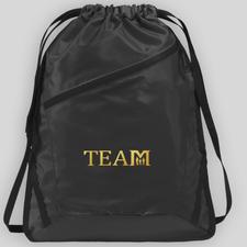 TEAM Cinch Bag - SAMPLE