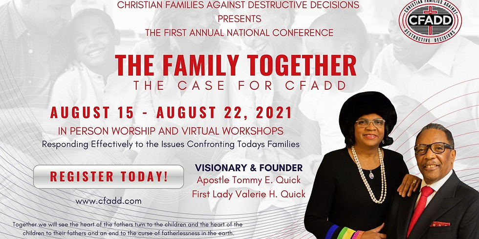THE FAMILY TOGETHER - THE CASE FOR CFADD