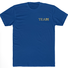 TEAM T-SHIRT Royal Blue - SAMPLE