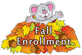 Enroll now for Fall