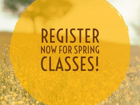 2019 Spring Classes