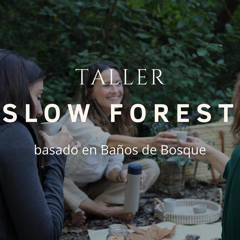 Taller de Baños de Bosque SLOW FOREST (COMPLETO)