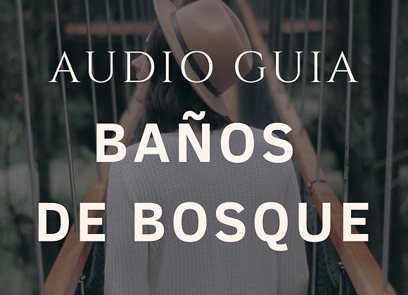 AUDIO-GUÍA Baños de Bosque