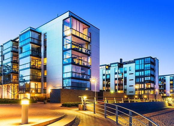 Жилой многоквартирный дом | финансовая модель бизнес плана