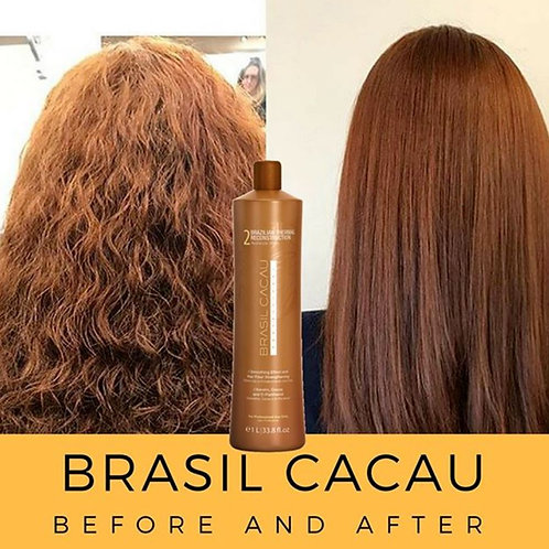 Brazil cacau Braziliaans straighten haar Seduction Keratin Treatment N°2. 1L
