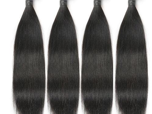 Kit Straight Human Hair Bundels 3x 20inch/ 50,8cm + frontal