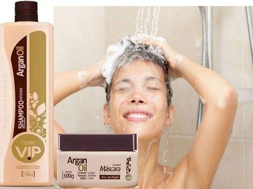 VIP Argan Olie Shampoo + Mascara onderhouden home care 300g formolvril