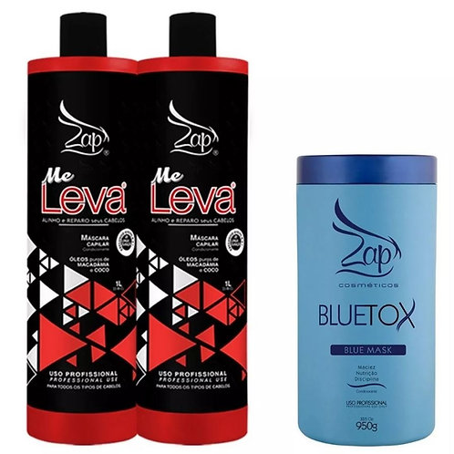 ZAP Me Leva keratine behandeling 2x1+Bluetox Mask botox 950g