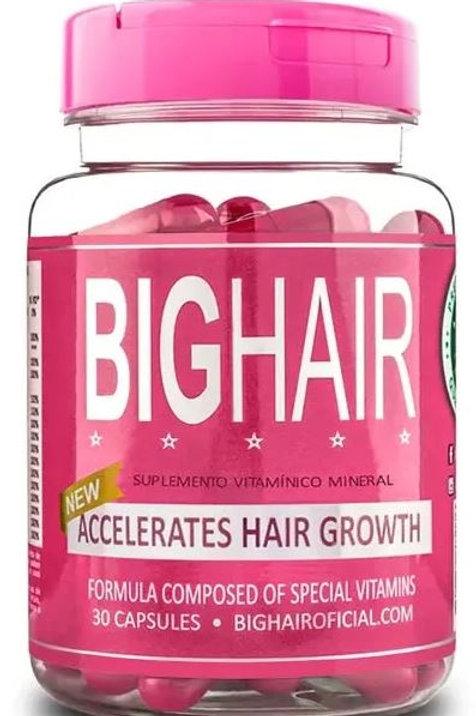 BIG HAIR  Natuurlijke  vitaminecomplex 30 capsules