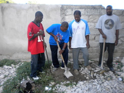 Breaking Ground For New Well
