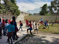 Children's School Play Ground in Haiti