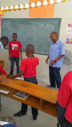 Teaching In a School in Haiti